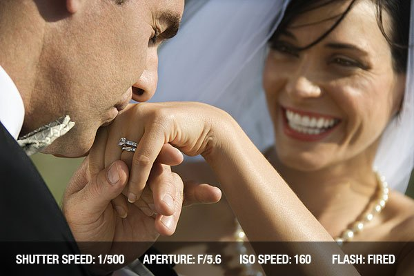Wedding Photography - Male groom kissing hand of female bride